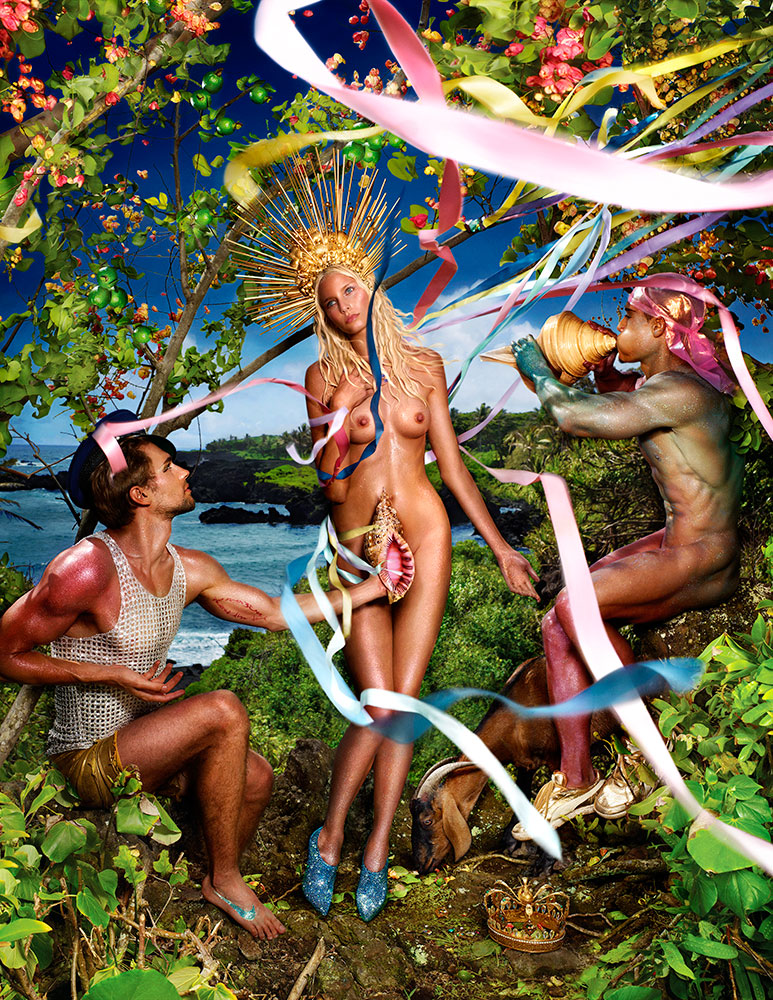 Rebirth of Venus, 2009 © David LaChapelle
