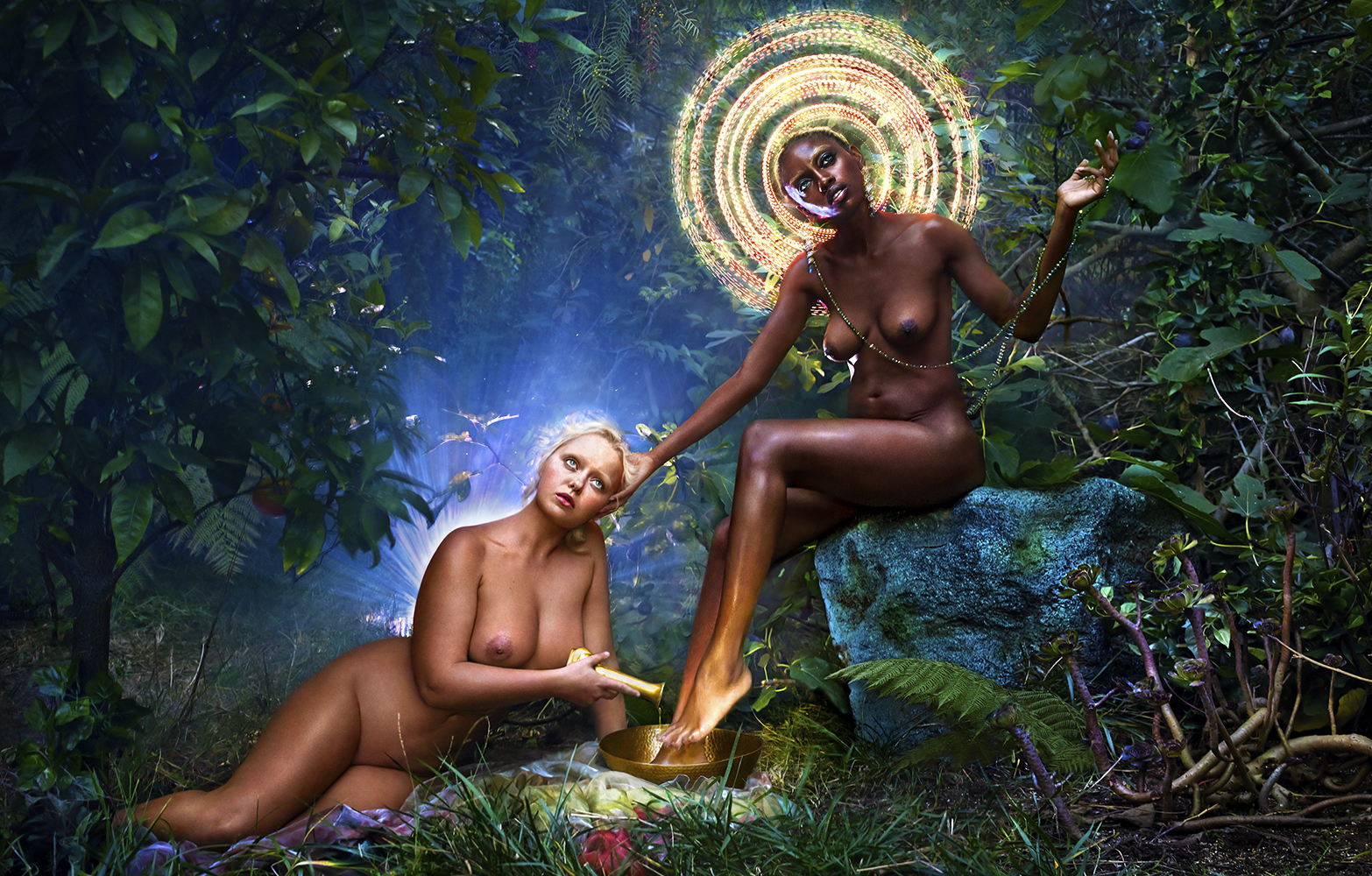 We Forgave Deeply Then Love Flooded Our Hearts, 2017 © David LaChapelle