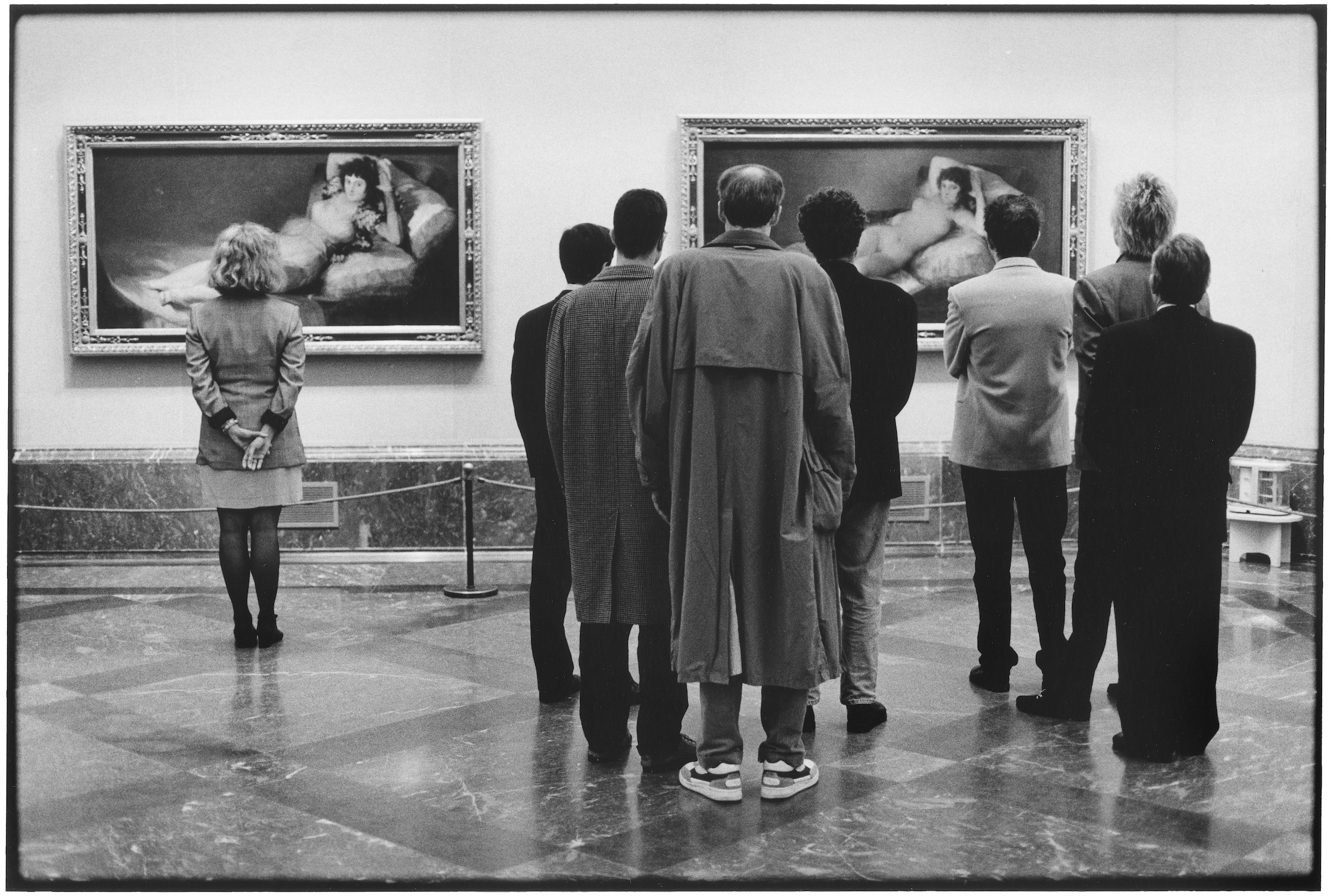 SPAIN. Madrid. 1995. Prado Museum.  © Elliott Erwitt/MAGNUM PHOTOS