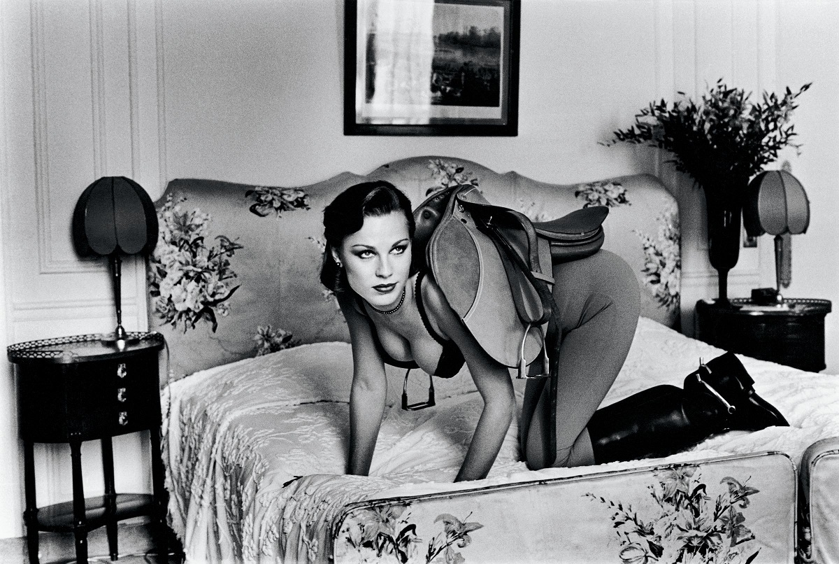 Saddle I from the series Sleepless Nights Paris 1976 © Helmut Newton Estate