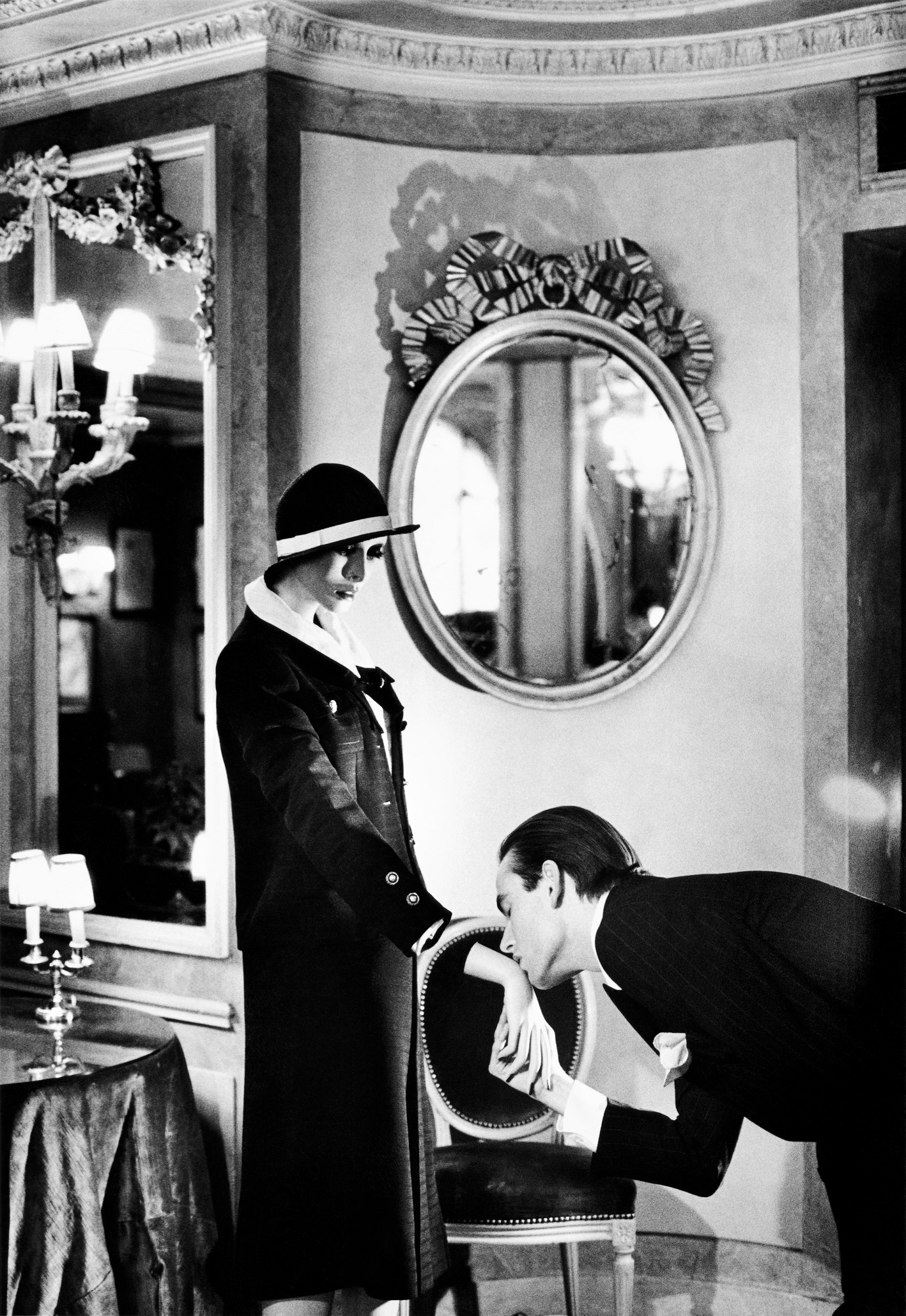 At Maxim´s, from the series Sleepless Nights, Paris 1978, © Helmut Newton Estate