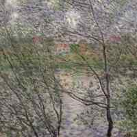 Claude Monet, Les Bords de Seine. Le Printemps à travers les branchages, Paris, Musée Marmottan (Inv. 4018)
